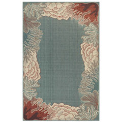 Liora Manne Riviera Reef Border Indoor/Outdoor Rug,