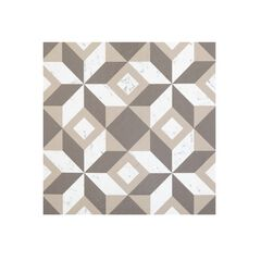 "Retro 12"" x 12"" Self Adhesive Vinyl Floor Tile - 20 Tiles/20 sq. ft.,"