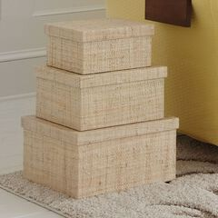 Ross Boxes, Set of 3,