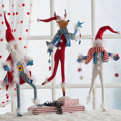 Poseable Holiday Figures, Set of 3,
