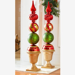 Ornament Topiary Statue,