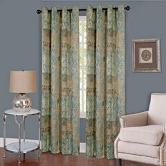 Vogue Grommet Window Curtain Panel,