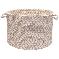 Stone Harbor Grey Stone Basket,