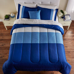 BH Studio Colorblock Comforter, BLUE