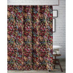 Alice Midnight Bath Shower Curtain,