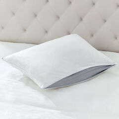 Adjusta-Zip Comfort Pillow, WHITE