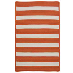Bay Stripe Orange Rug ,