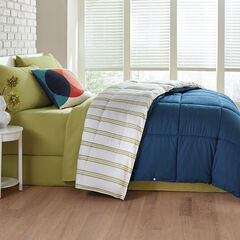 BH STUDIO® 4-Season Comforter, NAVY KIWI