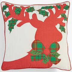 Holiday Decorative Pillows, REINDEER