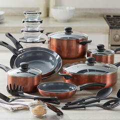 26-Pc. Aluminum Cookware Set,