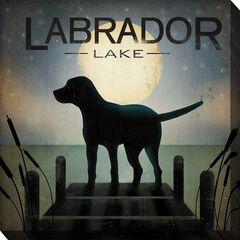 Labrador Lake Outdoor Wall Art,
