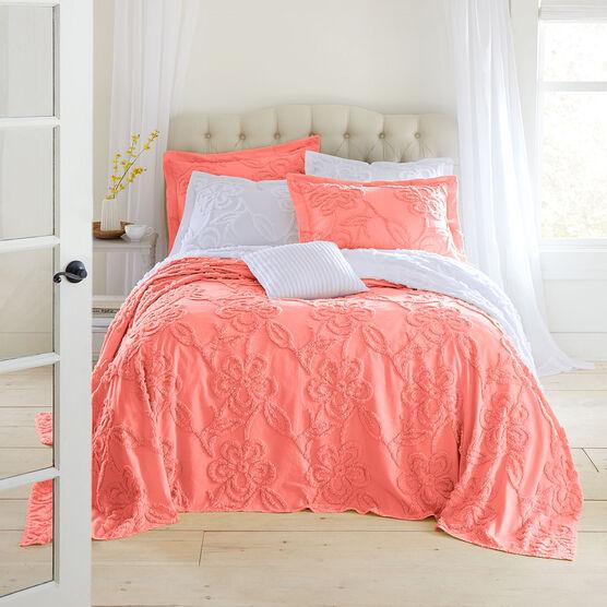 Flora Chenille Bedspread Brylane Home