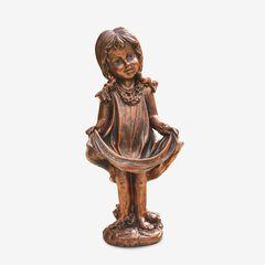 Bronze Girl Statue,