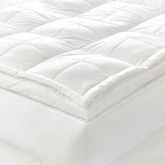 Temperature Balancing Fiber Bed Topper,