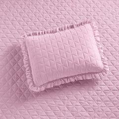 Serena Washed Microfiber Sham,