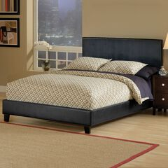 Hillsdale Harbortown Black Bed Set with Side Rails,