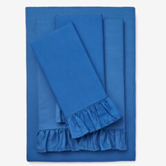 BH Studio Microfiber Sheet Set, BLUE