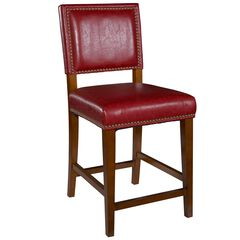Brook Red Counter Stool,