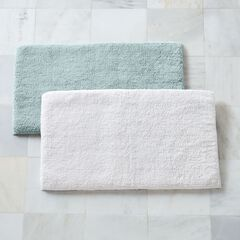 Memory Foam Cotton Tufted Bath Mat,