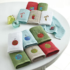 Holiday 6-Pc. Washcloth Set,