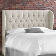 Tufted Wingback Headboard,