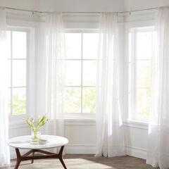 Oriel Bay Window Wrapping-Rod Set,