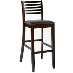"Triena Collection Ladder Bar, Stool 30""H, ESPRESSO"