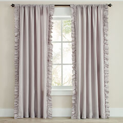 Liliana Side Ruffle Panel, SILVER