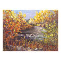 River Rapture Outdoor Canvas Art,