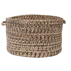 Corsica Basket by Colonial Mills, BROWN