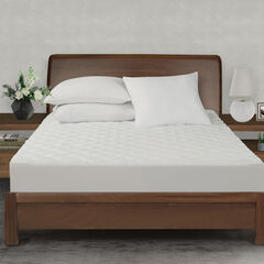 All-In-One Performance Stretch Moisture Wicking Fitted Mattress Pad, Twin,