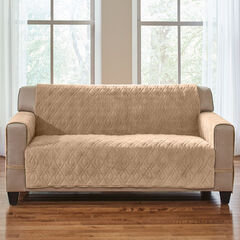 Plush Ultimate Loveseat Protector, CAMEL