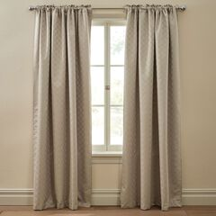 Diamond Thermal Rod-Pocket Curtain,
