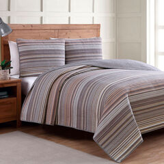 Taj Quilt Set, NATURAL