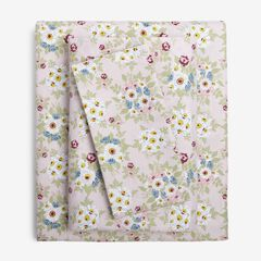 2-Pack Microfiber Sheet Set, PINK FLORAL