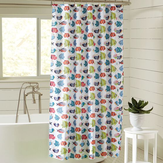 Caribbean Joe 14 Pc Shower Curtain Sets