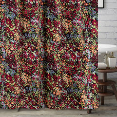 Barefoot Bungalow Alice Midnight Bath Shower Curtain,