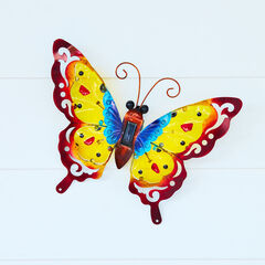 Butterfly Solar-Powered Hanging Light,