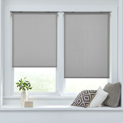 Solar Push-Up Roller Shade, GRAY