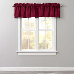 BH Studio Room-Darkening Rod-Pocket Valance,