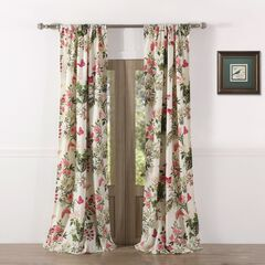 Butterflies Curtain Panel Pair by Greenland Home Fashions,