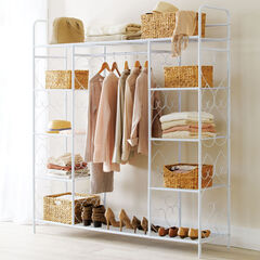 Extra Large 5-Tier Metal Closet,