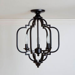 Paxton Geometric Light Fixture,