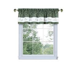 Live, Love, Laugh Window Curtain Valance - 58x14,