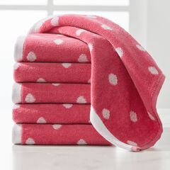 BH STUDIO® 6-Pc. Polka Dot Washcloth Set,