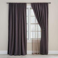 Ludlow Room-Darkening & Sheer Lace Panel,