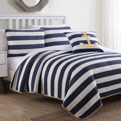 Hampton 4-Pc. Quilt Set,