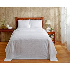 Natick Collection Tufted Chenille Bedspread by Better Trends,