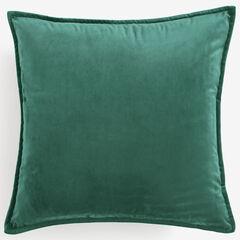 """BH Studio 20""""Sq. Velvet Pillow Cover, MISTLETOE GREEN"""