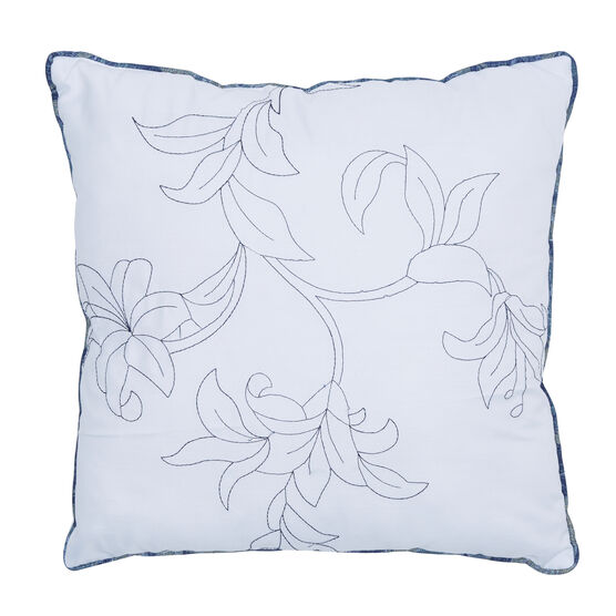 "Catherine 16"" Sq. Pillow, BLUE MULTI"